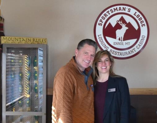 Bob and France Kudelski, new owners of the Sportsman Lodge