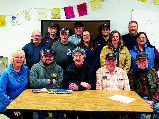 Ennis Volunteer Ambulance Service and Madison Valley Rural Fire Department members who completed a weekend of emergency medical training in February. (Submitted)