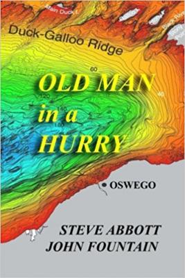 Old Man in a Hurry is the latest true-crime-based mystery published by John Fountain and Steve Abbott. The pairs' fifth and final book will be a novel set in Madison County. (Photo courtesy of Amazon)