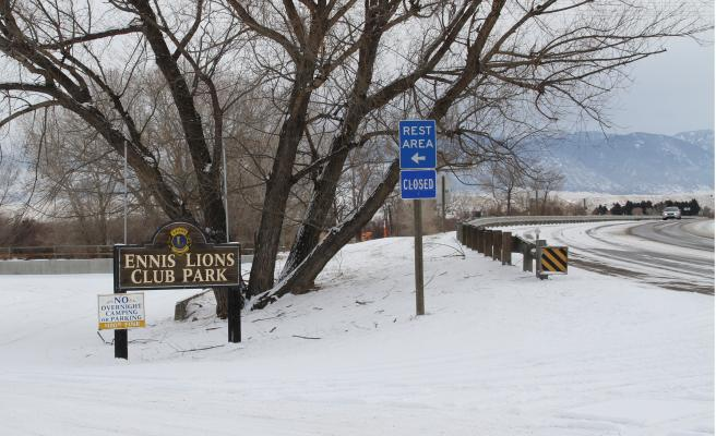 Ennis Mayor Blake Leavitt is working with the Lion's Club to draft a new agreement for the operation of the Lion's Club Park. The town owns the land at the park and the club maintains and operates the park. (G. Hamill photo)