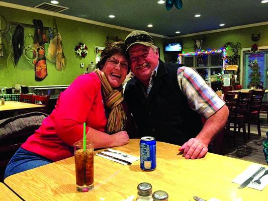 "Lynn and Reed Rowberry: ""Married 32 years, dated for five. So, together 37 years and spent 25 working together!"""