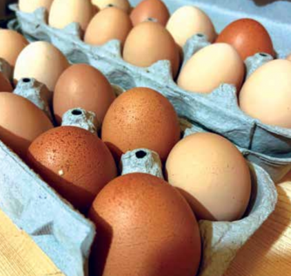 There's just something about farm-fresh eggs. PHOTO BY JOLENE PALMER