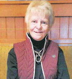 Kay Von Bergen was chosen as this year's Parade Marshall after many years of service to 4-H. PHOTO COURTESY KAY VON BERGEN