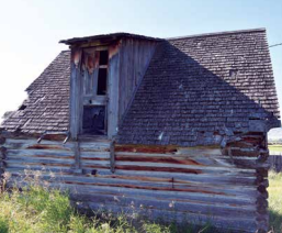The original DeHorty homestead structures withstand the test of time.