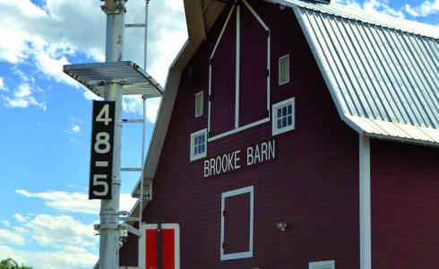 The Jefferson Valley Museum is housed in the renovated and re-purposed Brooke Barn just south of Whitehall's main street.