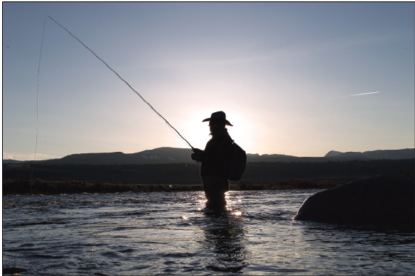 Will the high water hurt fishing? Not according to Ennis fly shop owner Joe Dilschneider. High water is simply one more challenge anglers need to overcome. (File PHOTO)