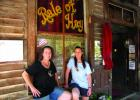 The Twins: Kay and Gay Rossow, are saying goodbye to the Bale of Hay Saloon after nearly 16 years of running it. They are not leaving town, but changing businesses. They will be running Cousin's Candy Shop in Virginia City. (J. Taylor)