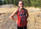 Allie Dale, Twin Bridges Cross-Country, placed second in the women's category during the Wolverine Classic Oct. 3. PHOTO COURTESY OF HANNAH KONEN