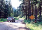 Narrow bridges and road stretches are just one aspect of the county portion of Jack Creek Road that will be addressed with upcoming road work. PHOTO BY JOLENE PALMER