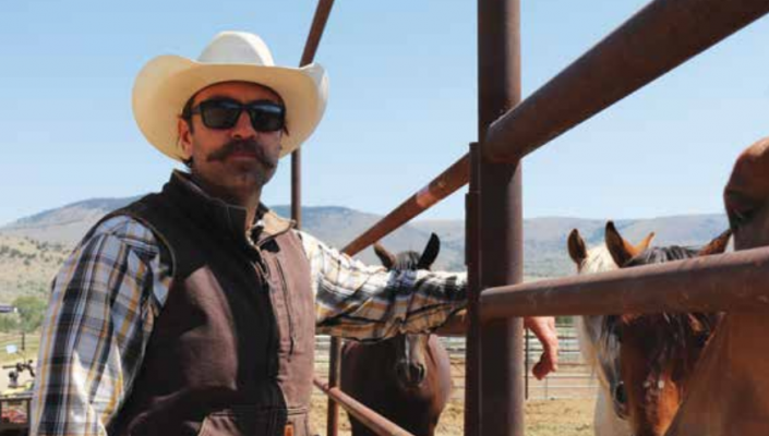 Micah Fink, founder and CEO of heroes and horses, may not have grown up living the Montana ranch life, but it's a life he's learned to love and one he helps teach to veterans looking for guidance as they return to civilian life.