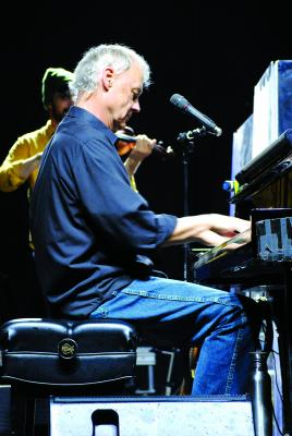 Left and above, Bruce Hornsby and the Noisemakers were one of the headliner featured acts at Moonlight Music Fest. Hornsby showed why his music has been popular since in mid-1980s debut. (J. Taylor photos)
