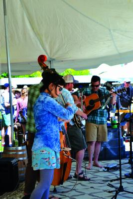 Local band Madison Range played a long set during Willie's annual Pig Pickin', along with Little Jane and the Pistol Whips. Nearly a thousand guests turned out to the annual event.