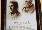 William and Katherine Ennis. PHOTO COURTESY MADISON VALLEY HISTORY ASSOCIATION