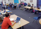 Twin Bridges School Board met on March 17 to take action on long-standing budget items, program and position reduction and reassignment. PHOTO BY KEELY LARSON