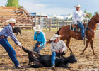 Local cowboys in action. PHOTO COURTESY MARK LAROWE