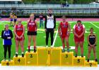 "Women's discus: 3rd Place Hailey Peck Twn Bridges threw 109'1""; 4th Place Blu Keim Twin Bridges - 107'7""; 6th Place Kayley Christensen Harrison - 98'1"";"